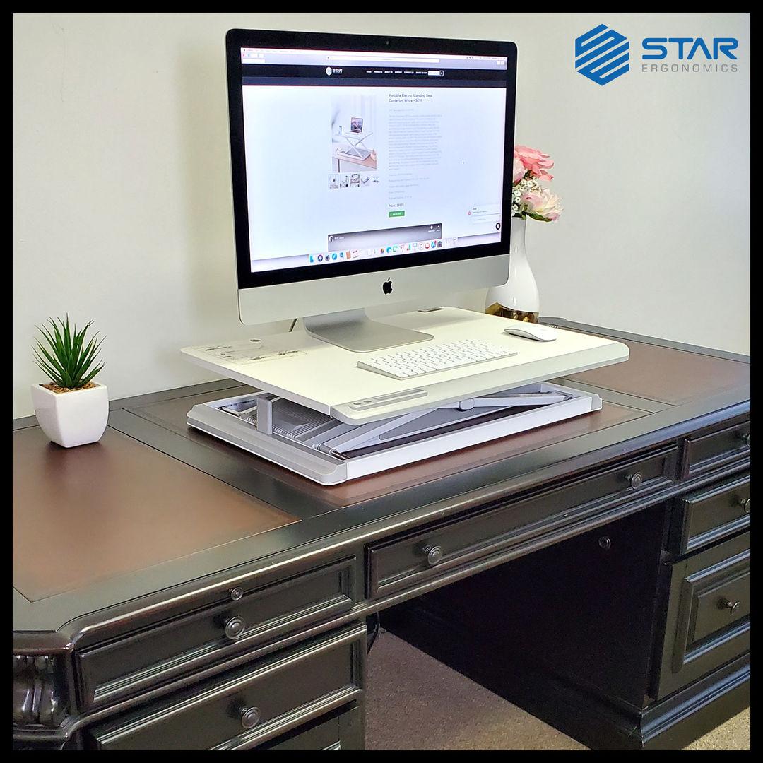 Buy Online Portable Electric Standing Desk Converter