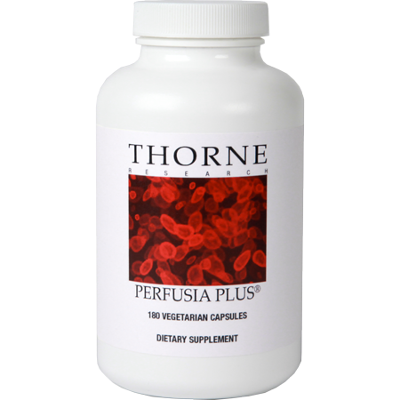 Buy Online Perfusia Plus - 180 Vegetarian Capsules @64.10 by Thorne Research