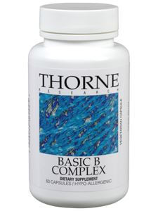 Buy Online Basic B Complex 60 vegcaps @20.50 by Thorne Research