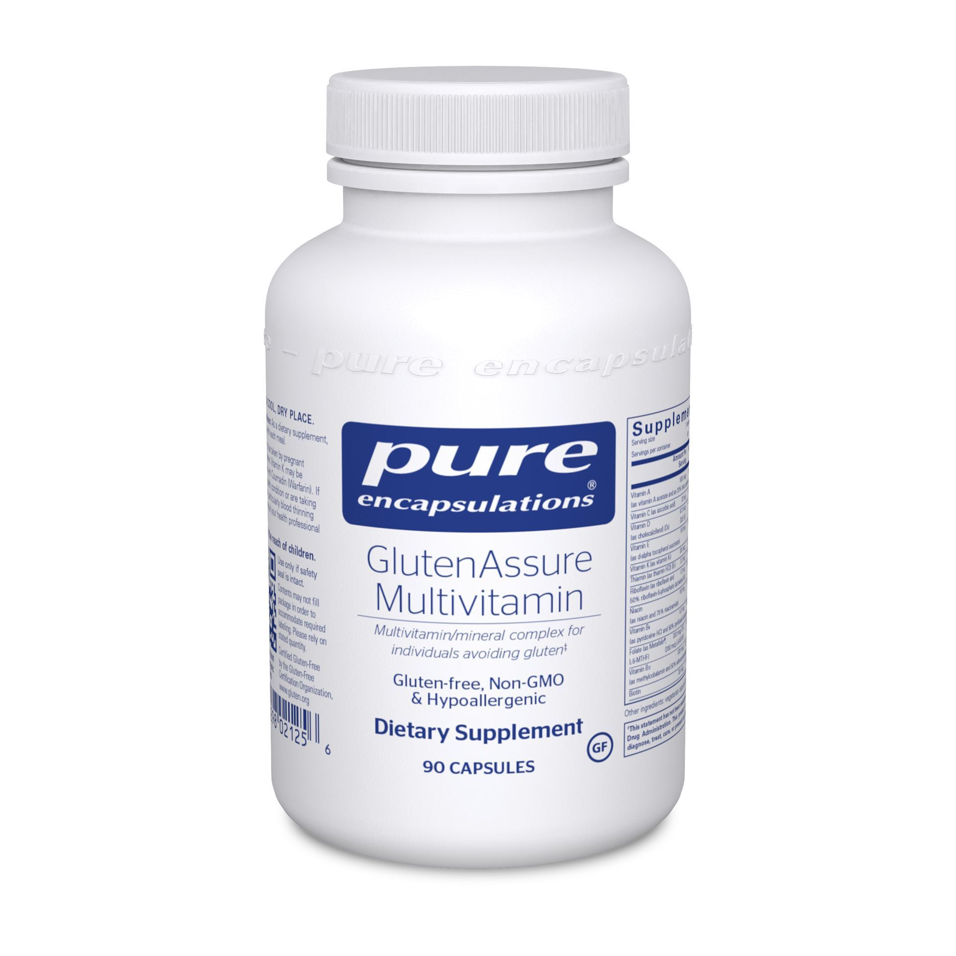 Buy Online GlutenAssure Multivitamin @40.90 by Pure Encapsulations