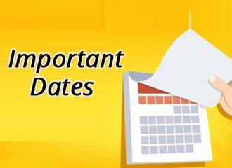 GCET Important Dates 2019 - Exam Date, Admit Card, Application Form