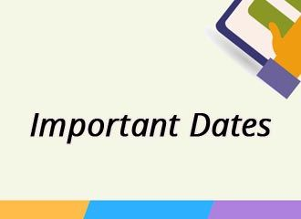 GATE Important Dates 2019 - Check Here Schedule