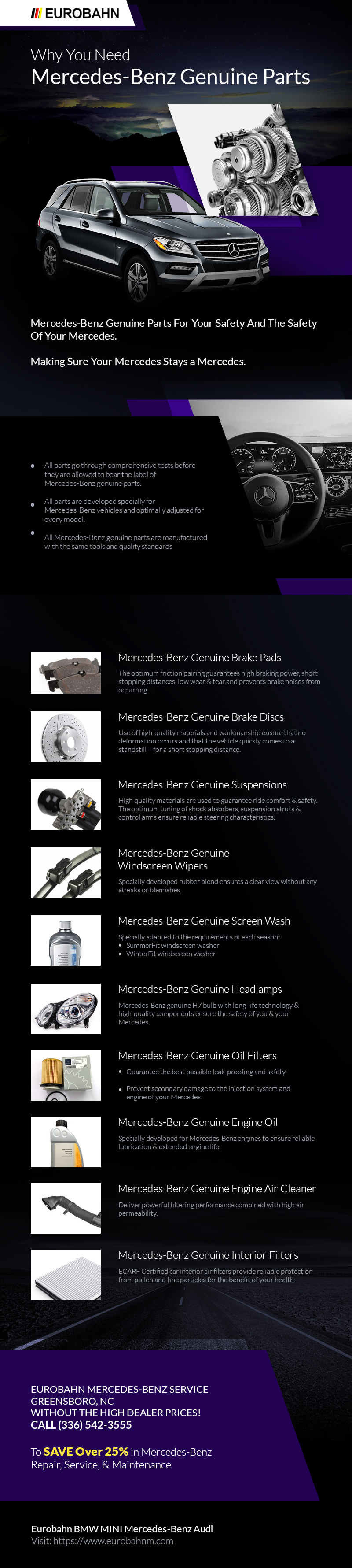 Why You Need Mercedes-Benz Genuine Parts