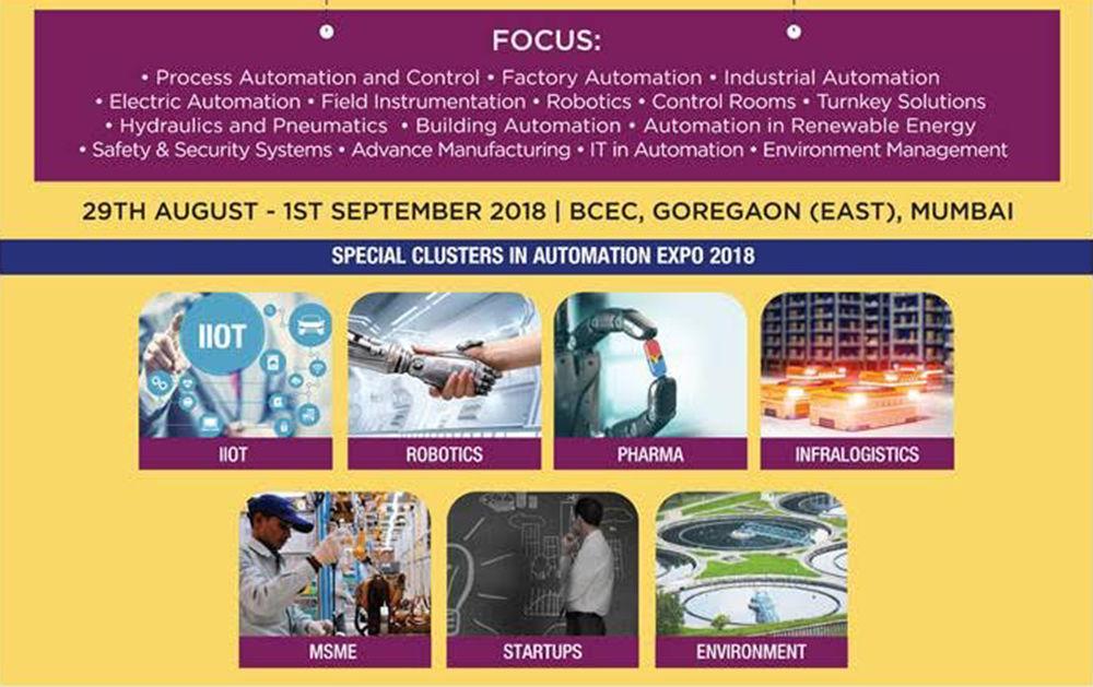 Automation Expo 2018 - Nasscom CoE IoT