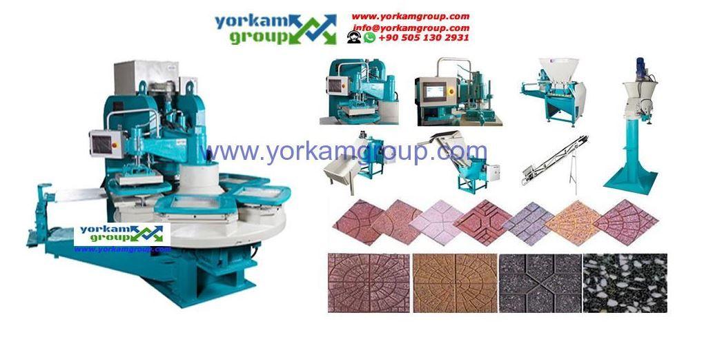machine pour fabriquer les carreaux ciment et Terrazzo