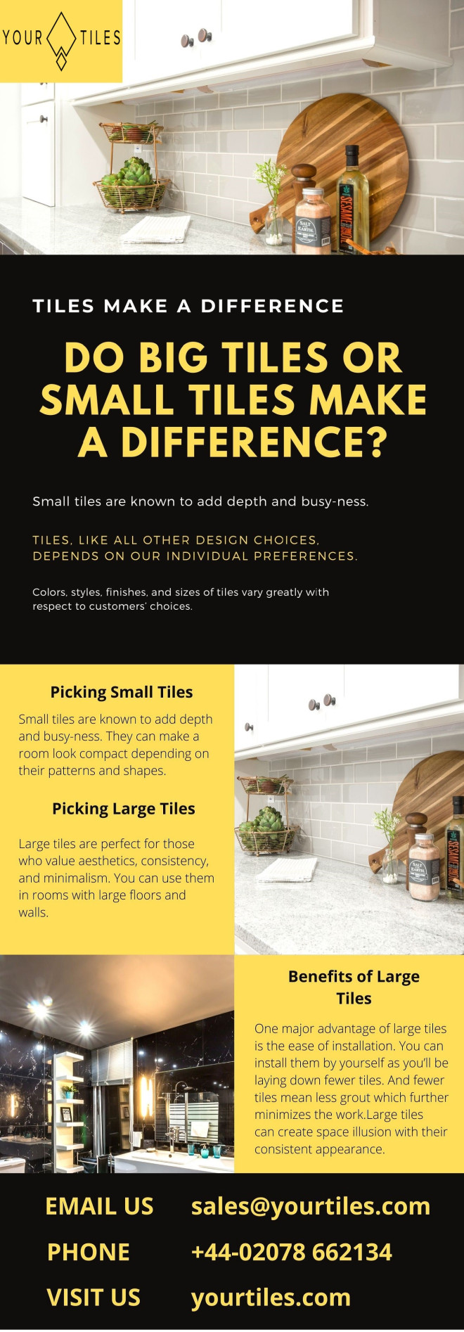Do Big Tiles Or Small Tiles Make a Difference?