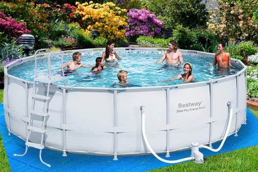 10 Design Ideas for Above-Ground Swimming Pools | Outbaxcamping