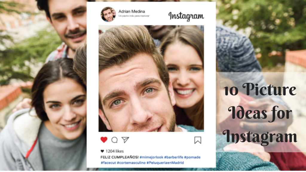 10 Picture Ideas for Instagram | Fastlykke | Blog