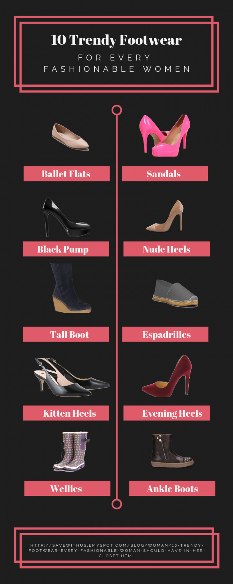 10 Trendy Footwear Every Fashionable Woman Should Have in Her Closet