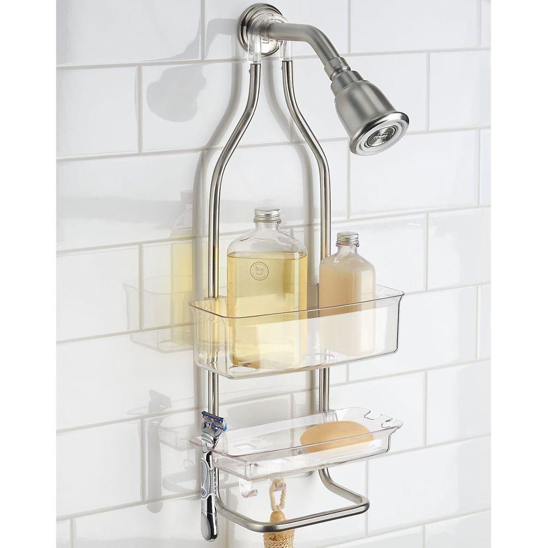How to Transform a Simple Corner Shower Enclosure Into a Mini-spa