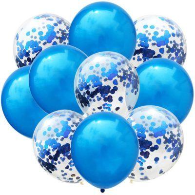 Jumbo Confetti Balloons, Rose Gold Confetti Balloon, Giant Confetti Balloons Free Shipping - Little Parties