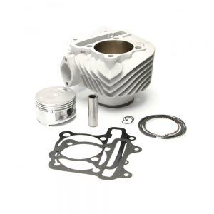 NCY Cylinder Kit (177cc, Ceramic, 62mm,15mm pin); GY6 | ScootsUSA