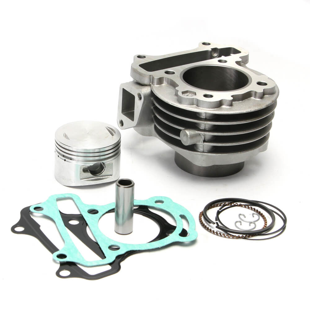 NCY Cylinder Kit (81cc, Iron, 50mm); QMB139 | ScootsUSA