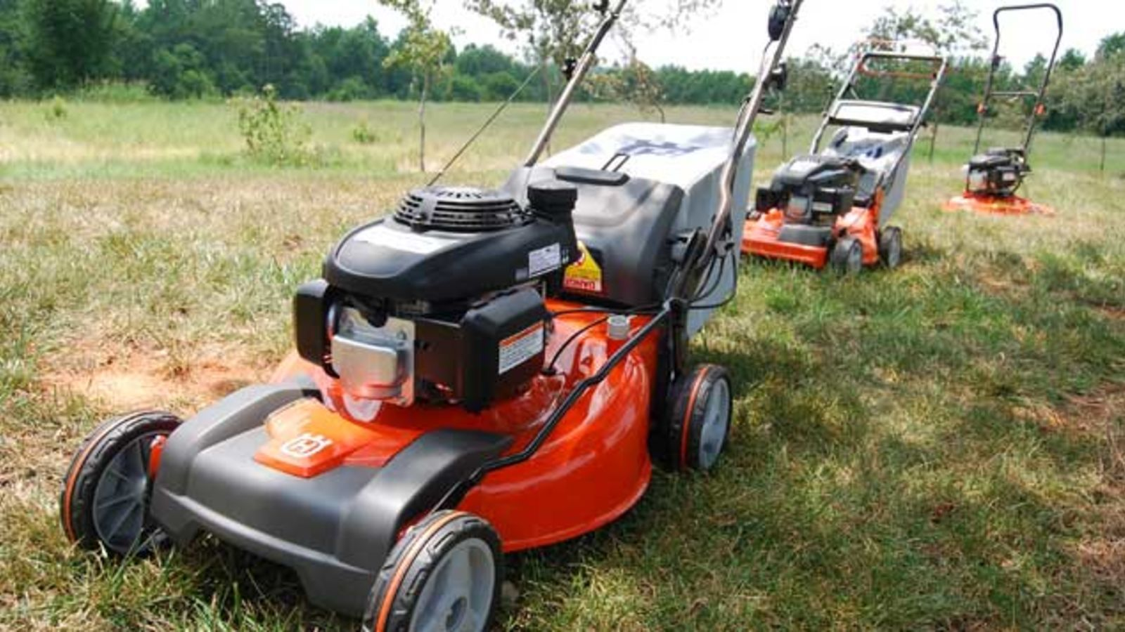 Why buy a cordless lawn mower?