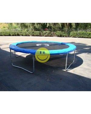 15' ft Galactic Xtreme Round Trampoline Without Enclosure - Happy Trampoline