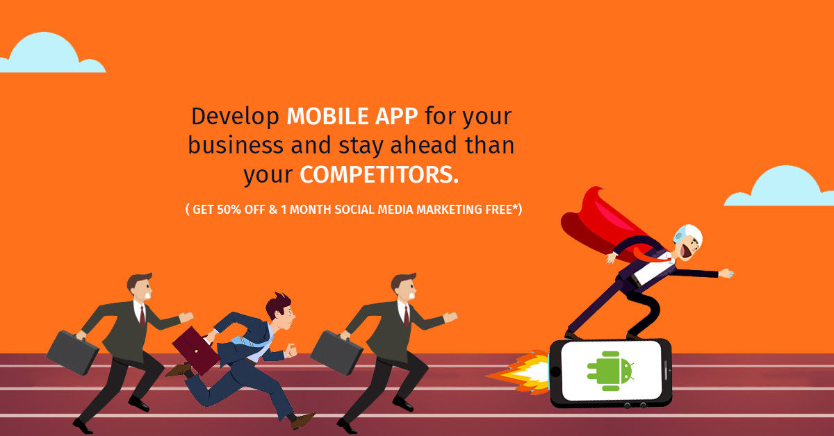 Get 50% off on mobile app development company in Mumbai