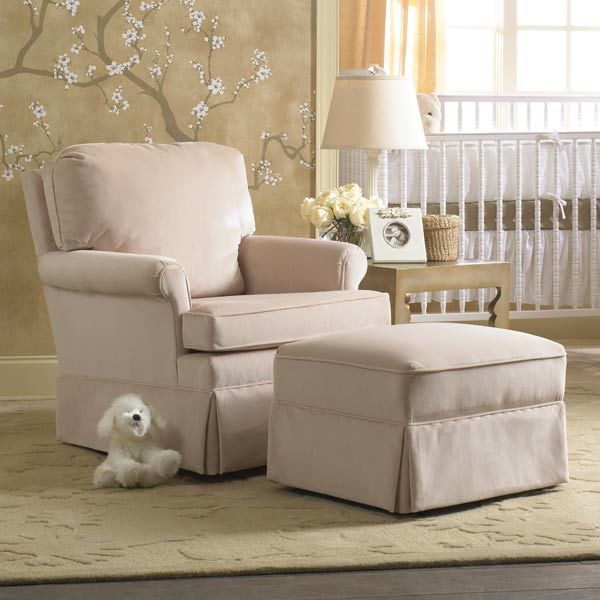 THE PERFECT COUCH FOR THE NEW BORN: NURSERY GLIDER