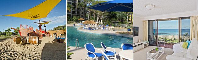 Palm Beach Luxury Accommodation Gold Coast - Blue Ocean Apartment