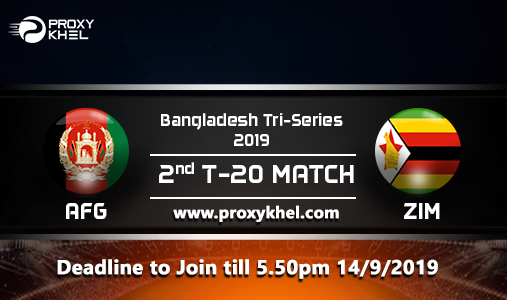 AFG vs ZIM Match 02, Bangladesh TRI Series| Proxy Khel Predictions.
