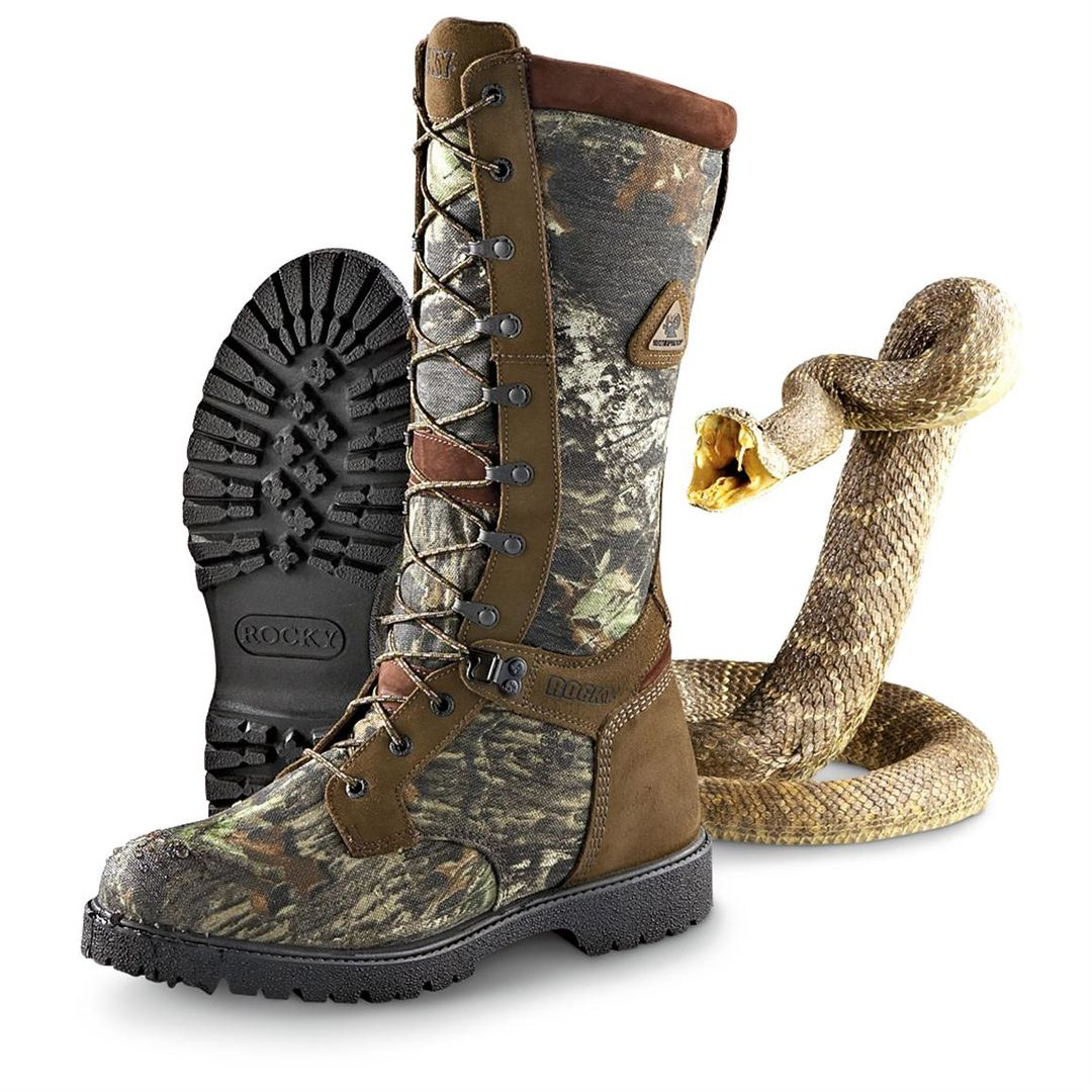 Seeing for The Good Pair of Snake Proof Boots