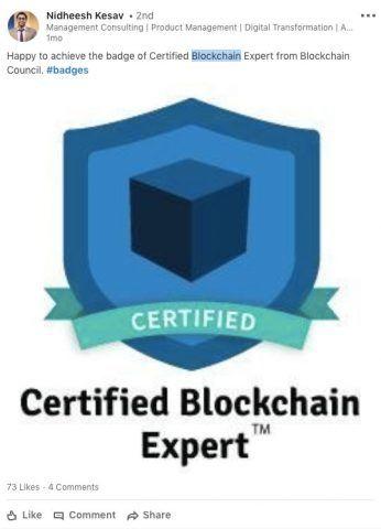 Certified Blockchain & Digital Marketing Professional™   Blockchain Council