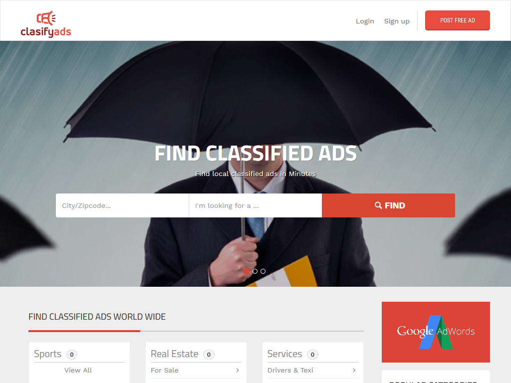 Classified Script, Classified Website, PHP Classified Scripts, Software | MintTM