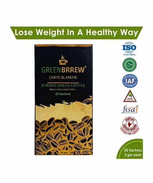 Buy Greenbrrew Strong Green Coffee Online in India