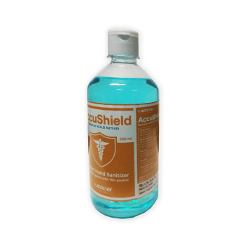 Accushield Instant Hand Sanitizer 500 ML