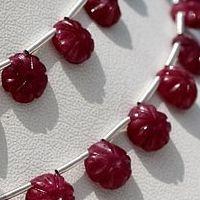 Ruby Gemstone – Faceted Beads | Ratna Sagar Jewels