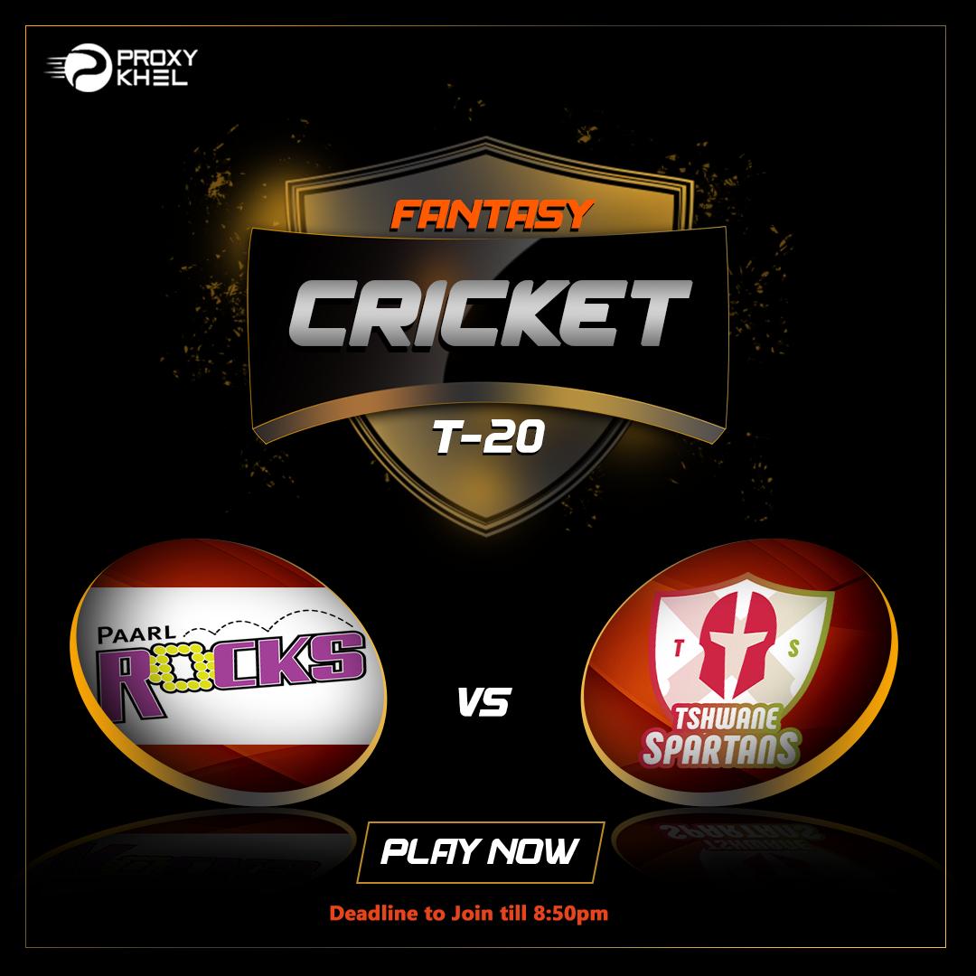 PR vs TS MSL 2019 Final | Proxy Khel Fantasy Cricket Predictions.