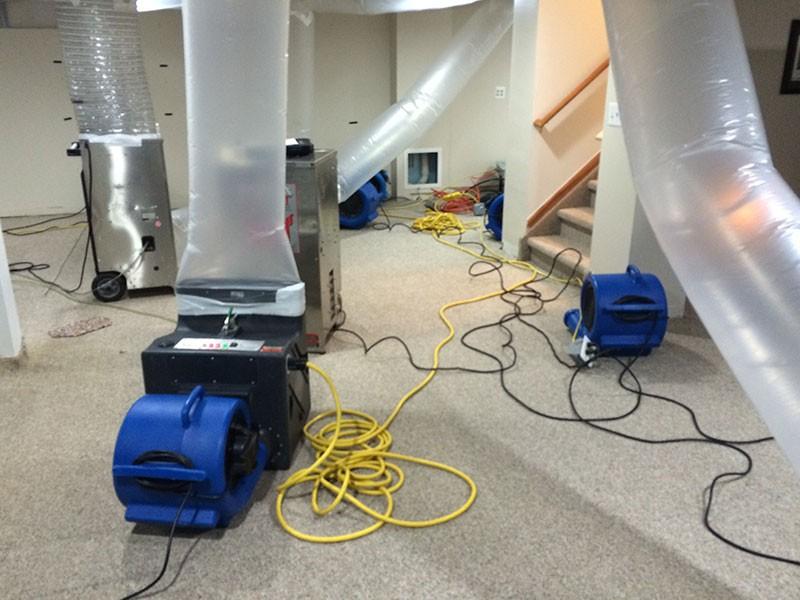 DFW Restoration, water damage extraction Dallas County TX