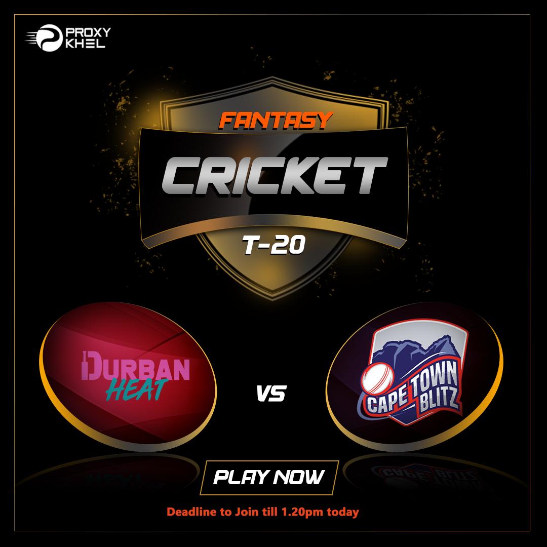DH vs CTB 9th t20 Match| Proxy Khel Fantasy Cricket Predicitons