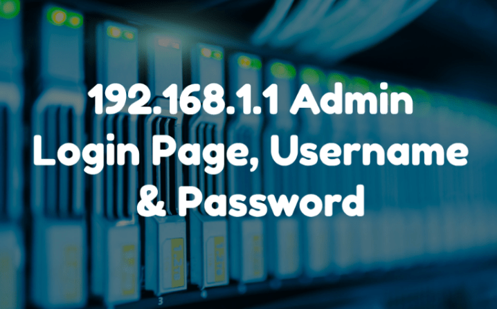192.168.1.1 Login Page, Username, Password and Wireless Settings