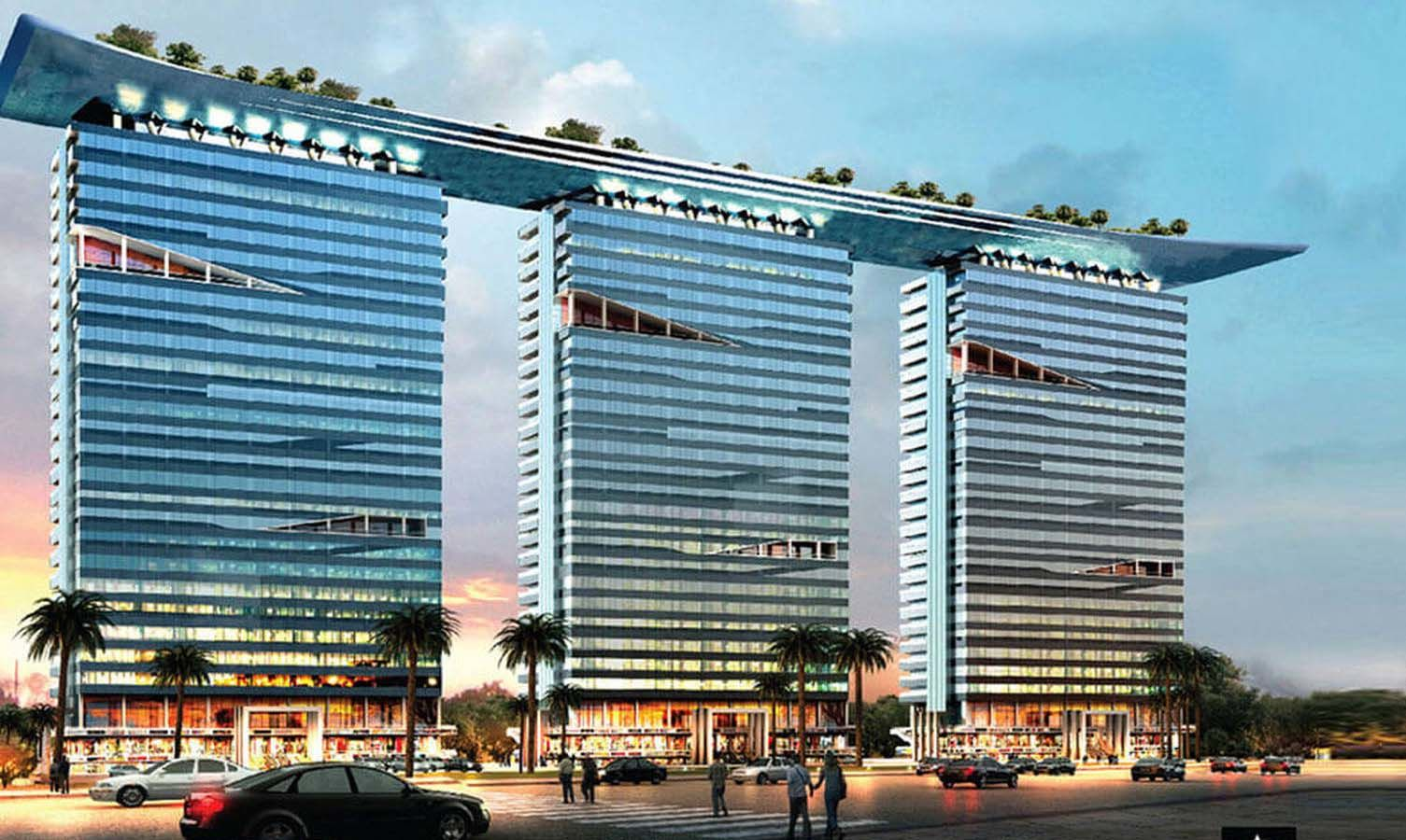 Alphathum Commercial space in Noida