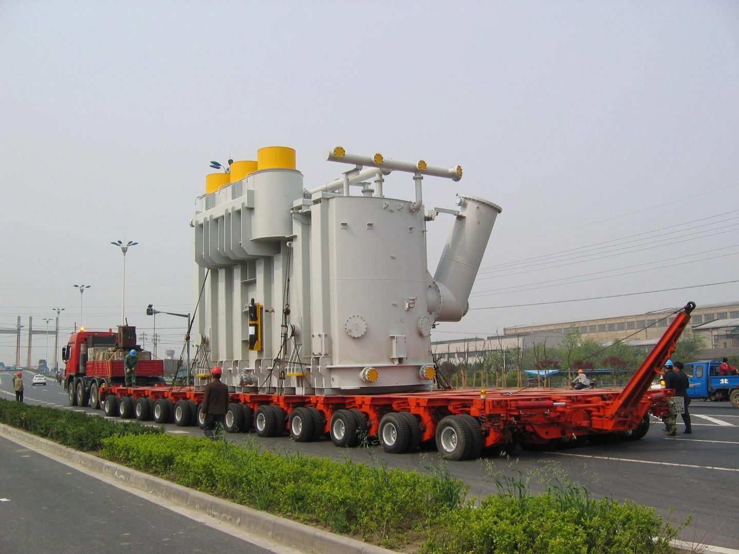 ABCC India Provide Low Bed Trailer transportation in Odisha