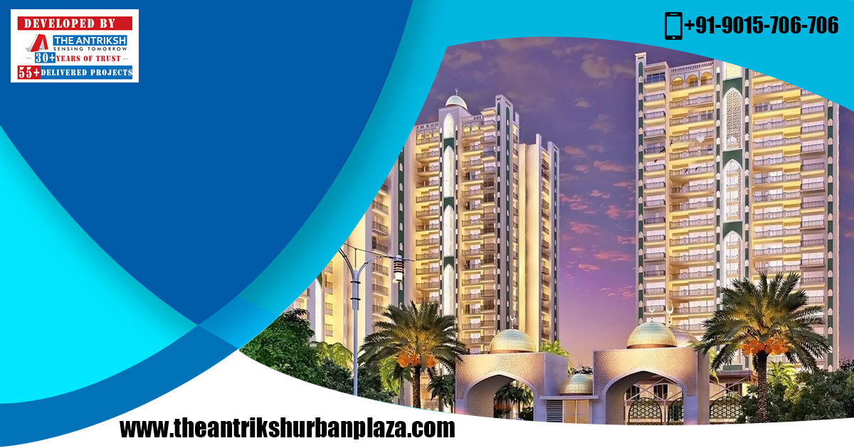 The Antriksh Urban Plaza - Commercial Project in L Zone | Delhi Smart Cities News