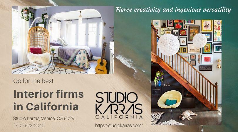 best interior firms in california