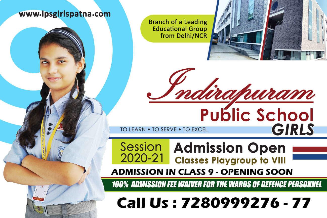 Indirapuram Public School - Leading Girls School in Patna