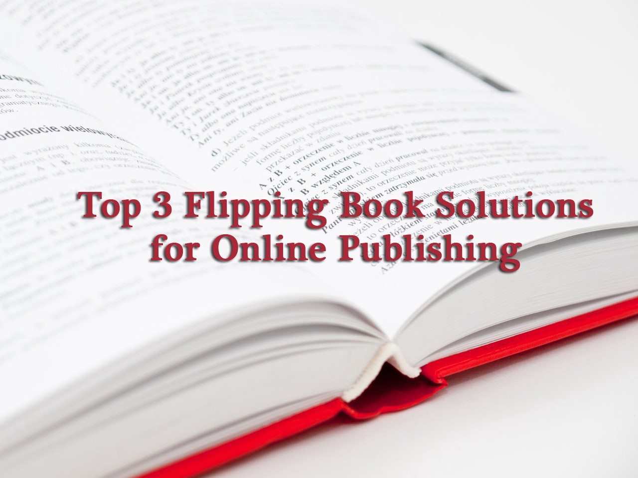Online Flipping Book Publishing | Flipping Book Software