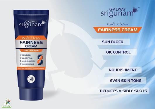 Galway Srigunam Fairness Cream Men – GalwayKart