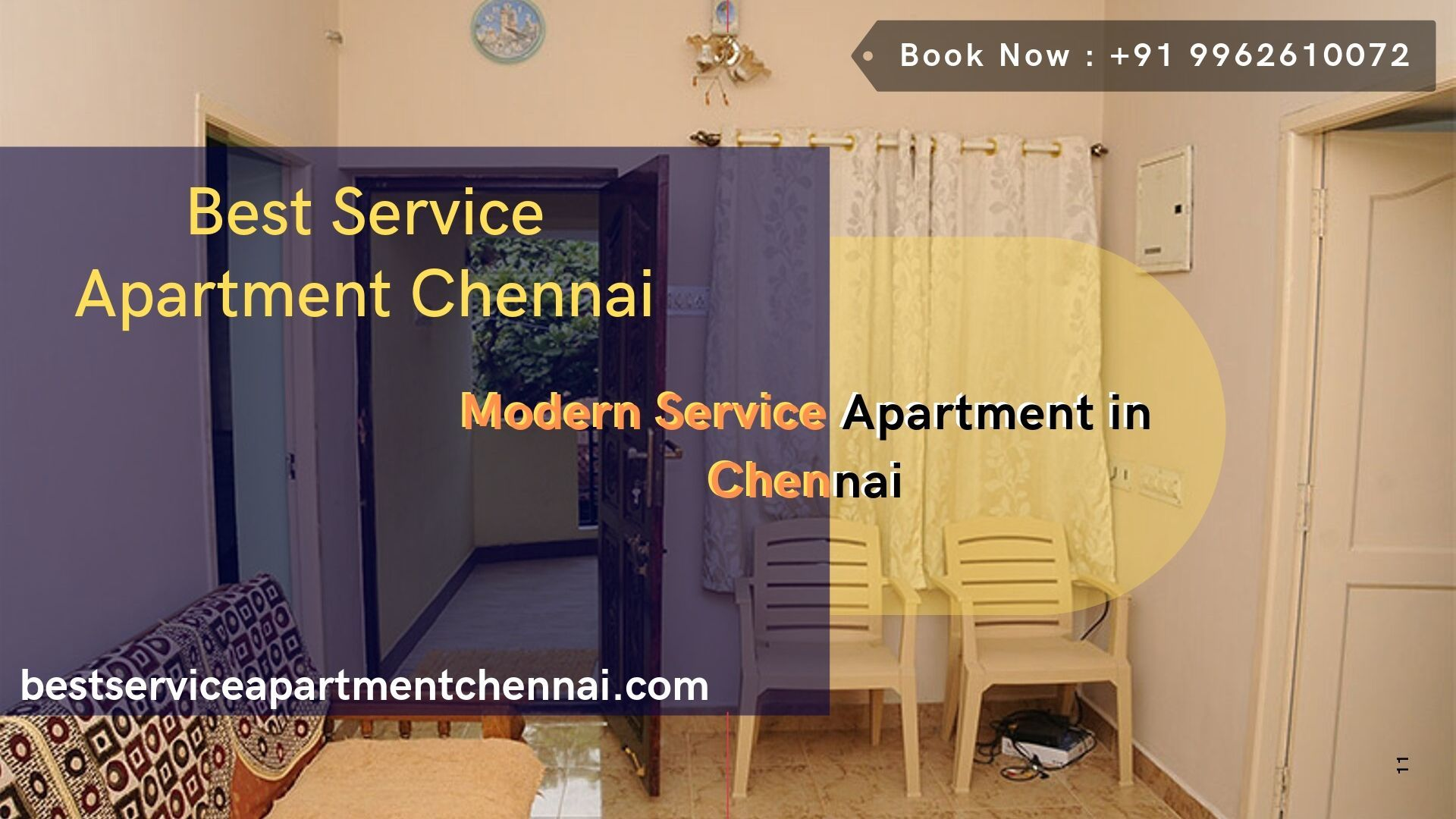 Modern Service Apartment in Chennai