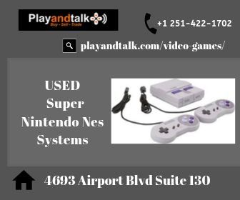 USED Super Nintendo Nes Systems