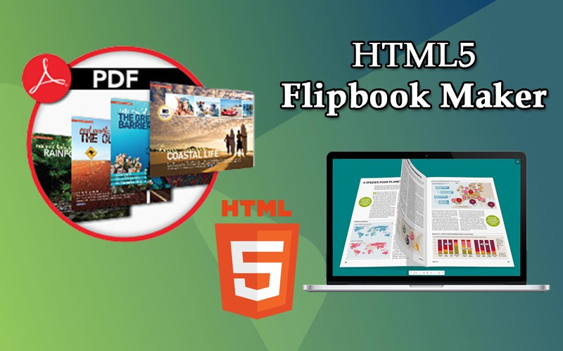 HTML5 Flip Book Maker Software