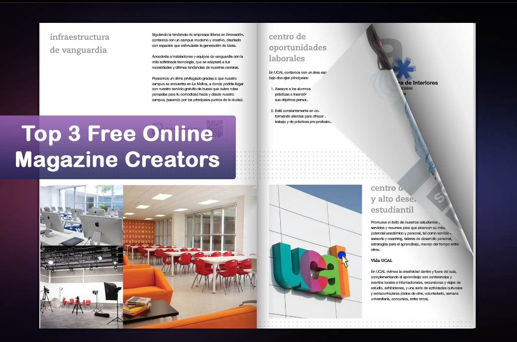 Top 3 Free Online Magazine Creators (2018) – Flip Book – Medium
