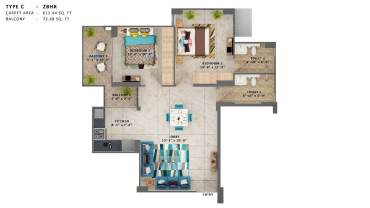 Mrg World The Ultimus Affordable Sector 90 Gurgaon - 9711414455