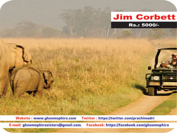 Jim Corbett National Park Packages, Tour and Holiday Package | Ghoomophiro