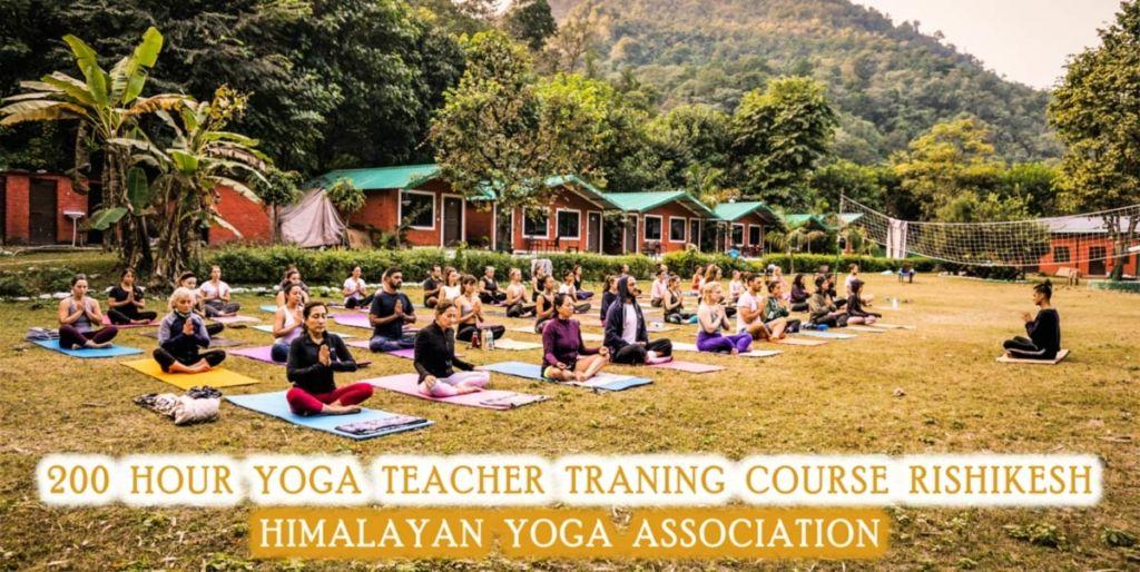 200 Hour Yoga Teacher Training in Rishikesh India -RYT 200, 2020 HYA