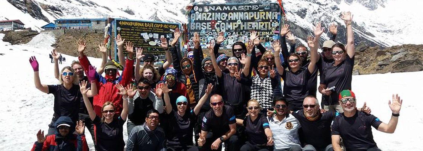 Annapurna Base Camp Trek |  Annapurna trek | Trekking Team Group