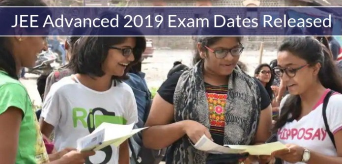 JEE Advanced 2019 Exam Dates are Released: Check Here