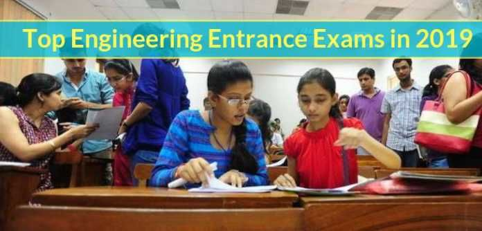 Top Engineering Entrance Exams in 2019 - Check List Here
